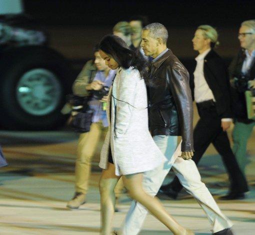 Obama partió rumbo a los Estados Unidos