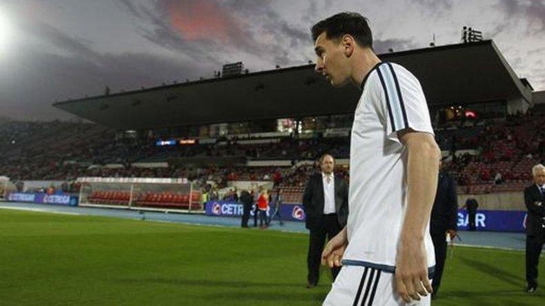 Messi realizó trabajos diferenciados
