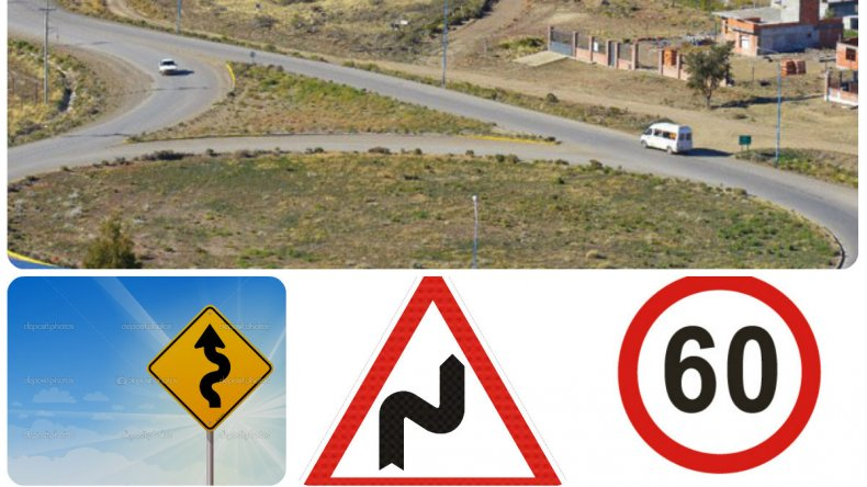 Durante el fin de semana largo se realizaron trabajos de señalización en el camino alternativo Roque González que une al barrio Máximo Abásolo con Saavedra.