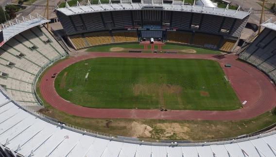 Así está el césped del estadio de Córdoba, a dos días del partido ante Bolivia