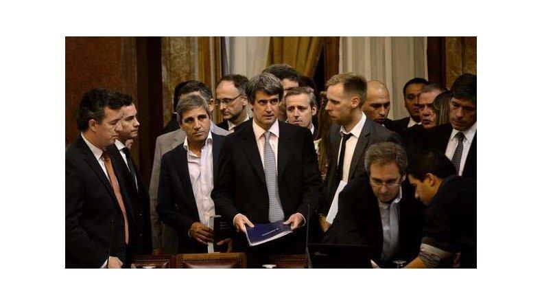 La exposición del ministro de Hacienda