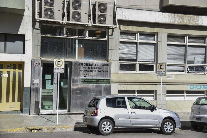 Las oficinas de la Secretaría de Salud funcionan en Sarmiento casi Belgrano