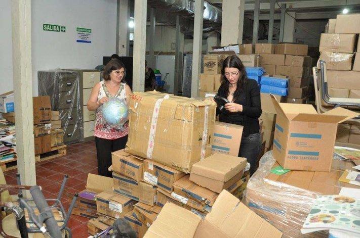 Cerca de 5.000 libros se distribuirán en casi 200 escuelas de Chubut.