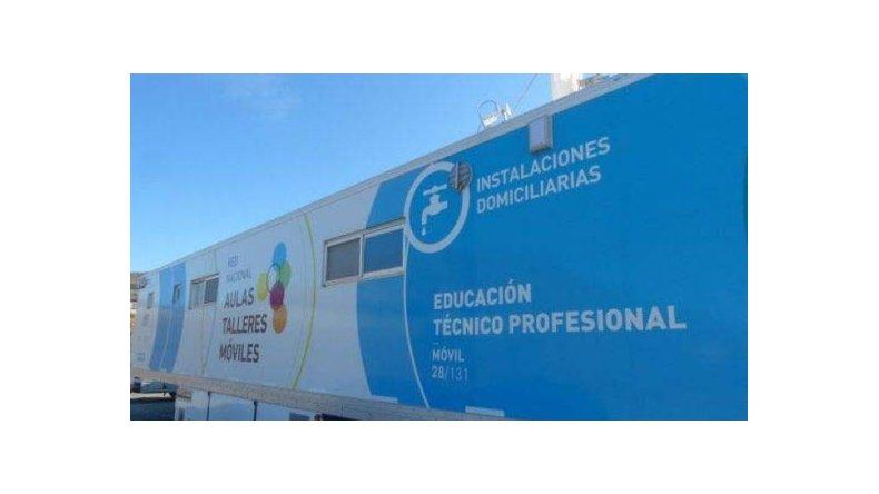 Las capacitaciones se realizarán en abril en las aulas móviles de El Calafate.