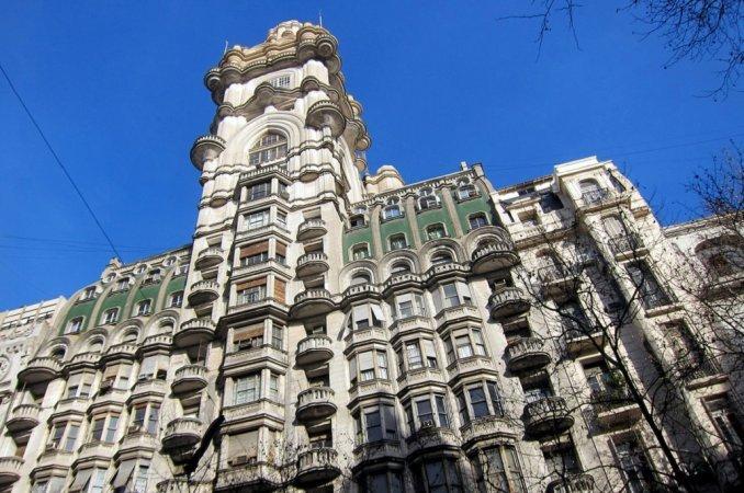 Golpe comando en el Palacio Barolo: robaron siete oficinas