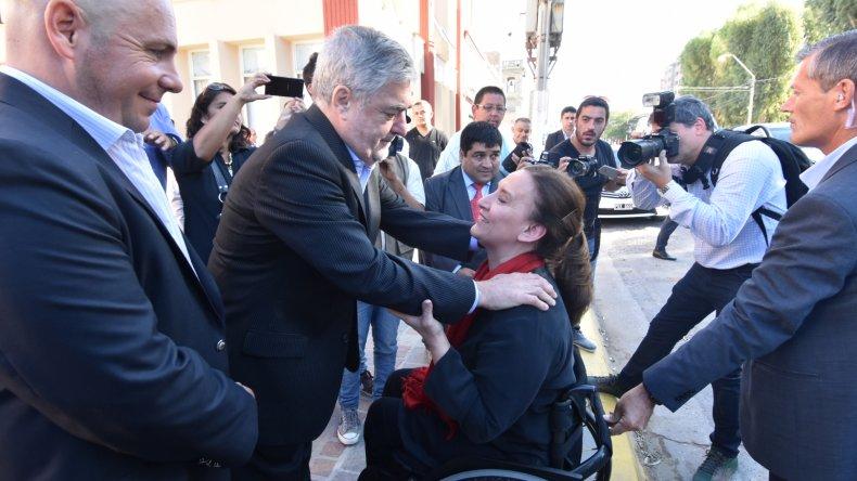 Das Neves recibió a la vicepresidenta Gabriela Michetti