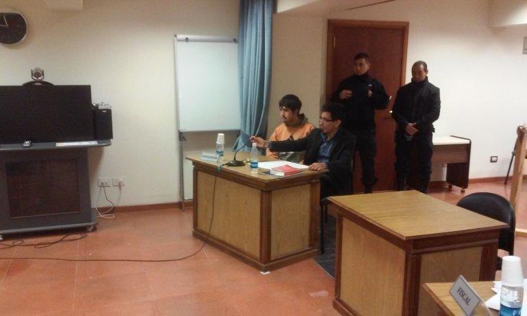 Podría recibir diez años de prisión  por un asesinato en Aldea Beleiro