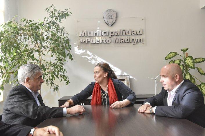 El gobernador Mario Das Neves