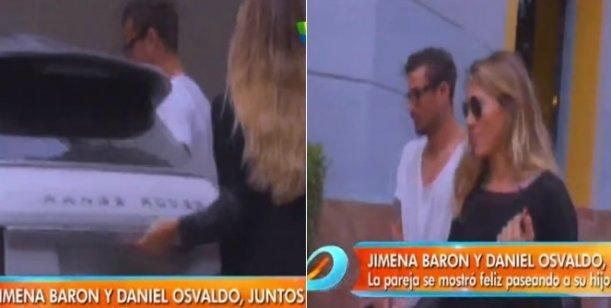 El video de la reconciliación de Jimena Barón y Daniel Osvaldo