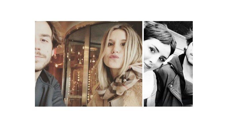 Fernando Dente, en Nueva York con Candelaria y Micaela Tinelli