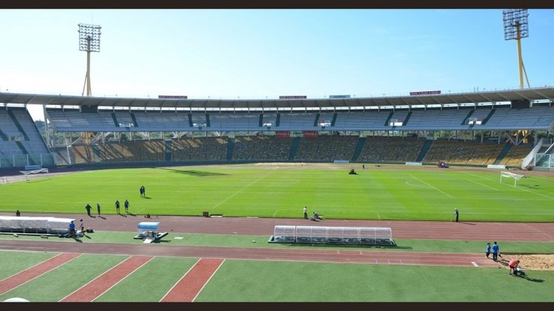 Así está el Estadio a horas del partido