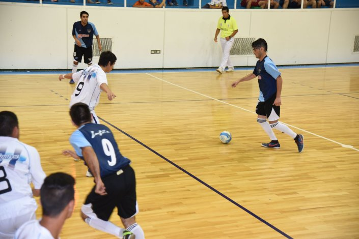 Inter derrotó a La Cigarra en uno de los partidos por la División de Honor.
