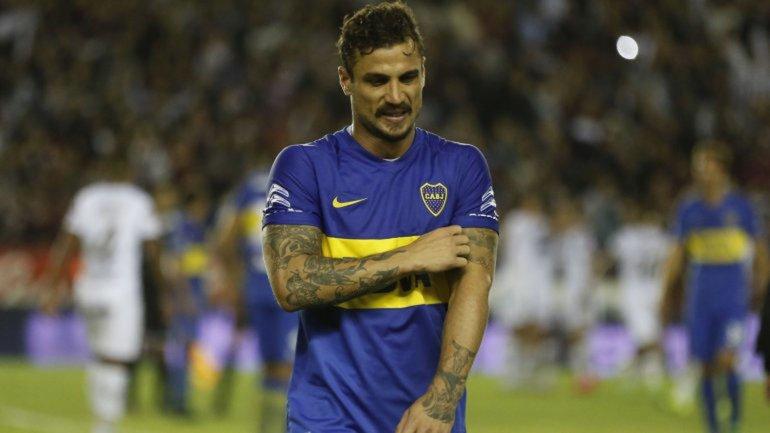 Osvaldo había regresado a las canchas en el último partido con Lanús