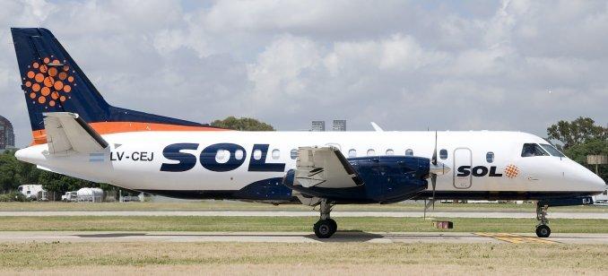 La aerolínea Sol oficializará su cierre hoy