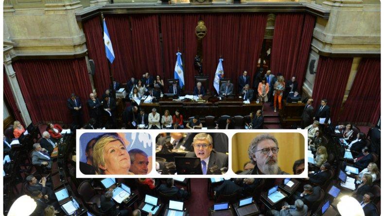 Cómo votarán los senadores de Chubut el acuerdo con los buitres