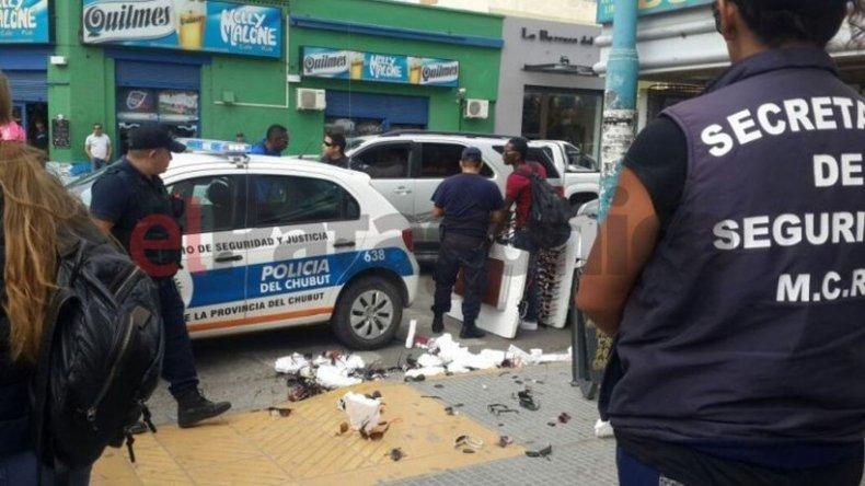 Desalojan a vendedores ambulantes en el centro