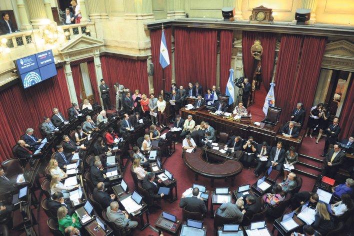 El debate por la ley de pago a los holdouts se dio con intensidad en el Senado.
