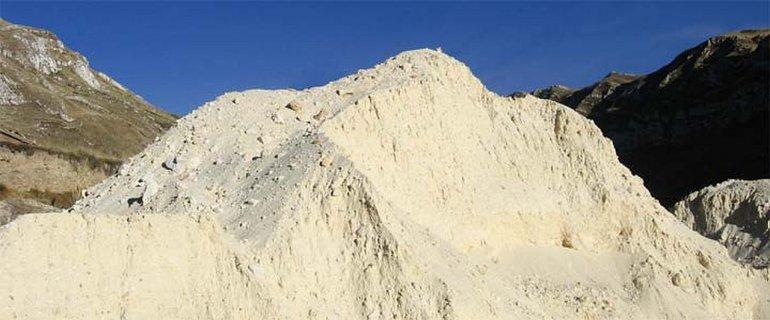 YPF le compró 25 toneladas de arenas silíceas a Chubut