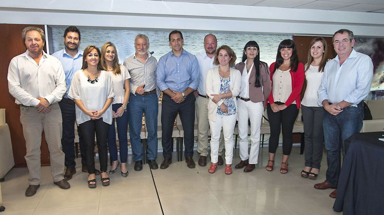 Los representantes de las provincias patagónicas durante la reunión del Consejo Regional de Ciencia y Tecnología Sur.