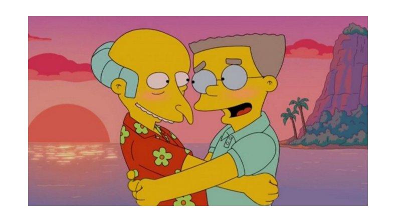 Después de 27 años de Los Simpson, Smithers admite que es gay