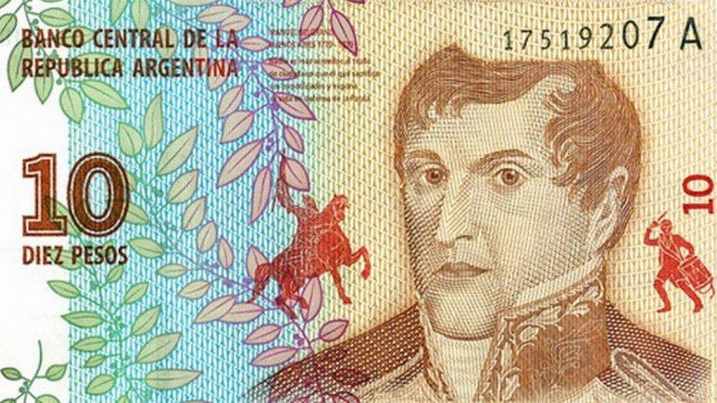 Anunciaron la puesta en circulación del nuevo billete de $10