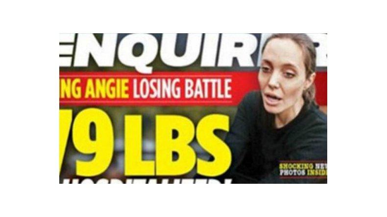 Angelina Jolie, moribunda