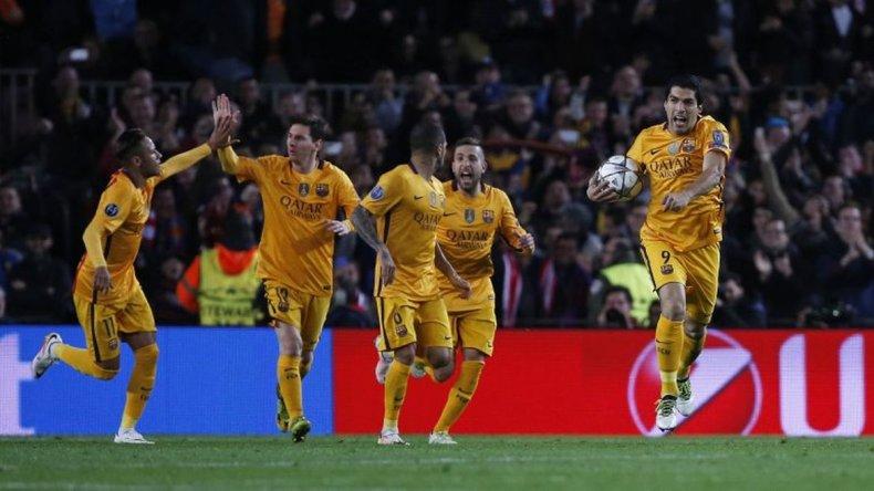 Barcelona se lo dio vuelta al Atlético en el Camp Nou