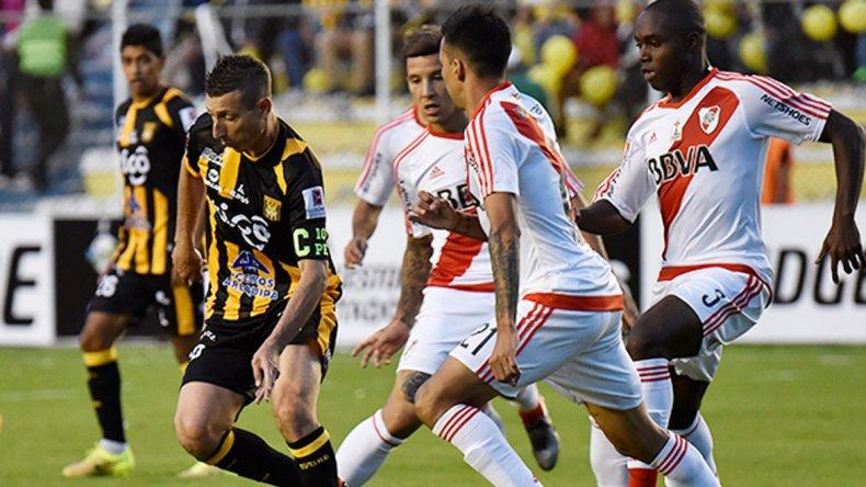 River y The Strongest empataron 1-1 cuando jugaron en la altura de La Paz. Hoy se ven las caras en el Monumental.