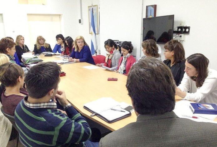 En el Concejo tomaron nota de las demandas de la Multisectorial de la Mujer. También delimitaron responsabilidades.