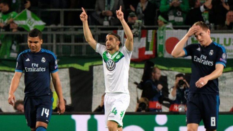 Wolfsburgo fue la sorpresa de la fecha al ganarle al Real Madrid en Alemania