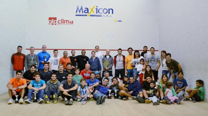 Los mejores exponentes de la región se dieron cita en Rada Tilly para el Torneo Regional de Squash.