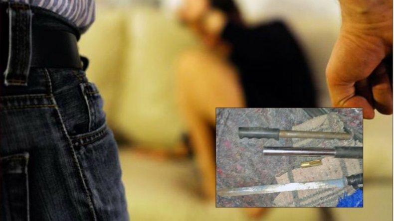 Amenazó de muerte a su ex, le encontraron armas pero no quedó detenido