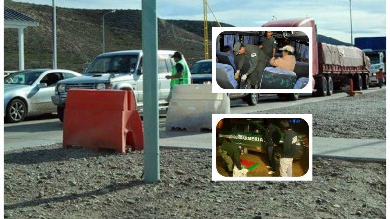 Gendarmería secuestró detonadores, mechas y explosivos que iban a Santa Cruz