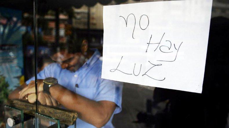 La vida económica de Venezuela se ve restringida por la crisis energética.