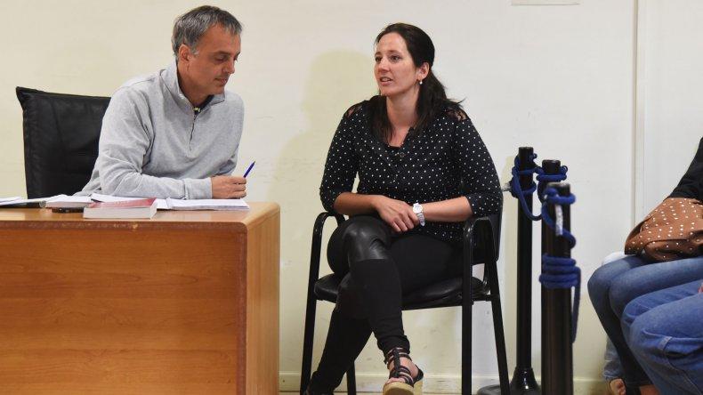 Nadia Kesen estuvo presa tres meses. Desde enero se halla con arresto domiciliario.