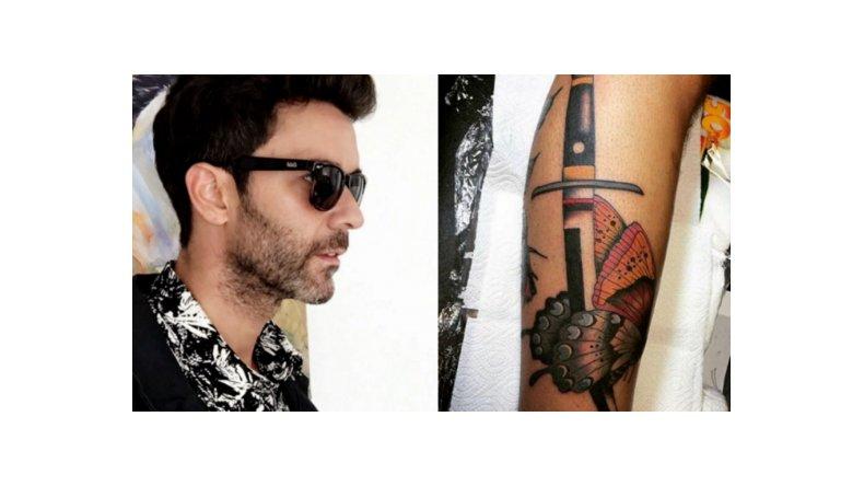 Mariano Martínez se hizo otro tatuaje: ¿indirecta para Lali Espósito?