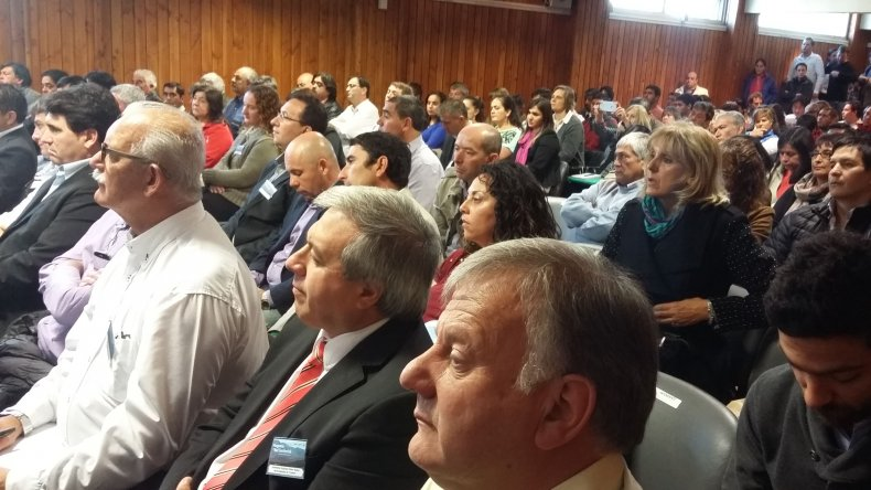 Los intendentes de Chubut plantearon necesidades a funcionarios nacionales