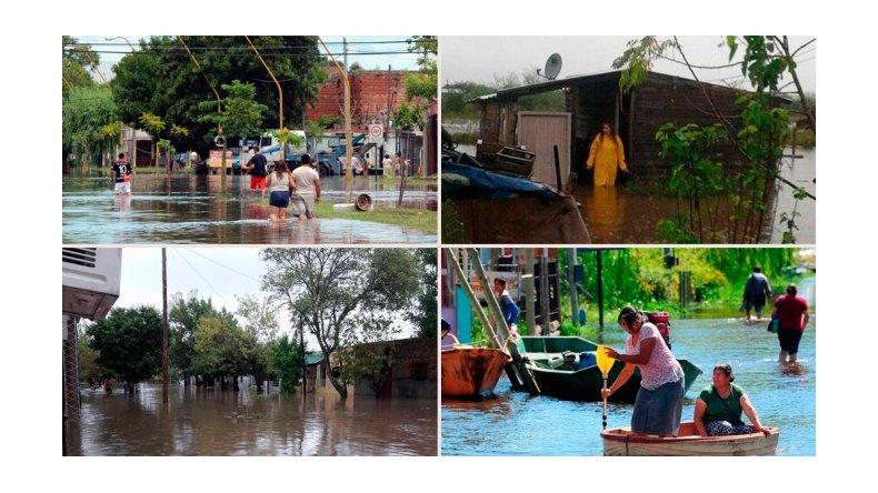 Alerta en Entre Ríos, Corrientes y Santa Fe por las inundaciones