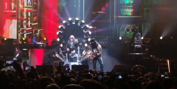 Guns N Roses sacudió Rosario en su primer recital en Argentina