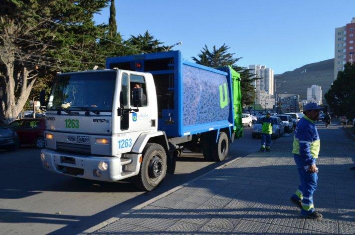 Urbana sumó otro camión para el servicio de barrido y limpieza