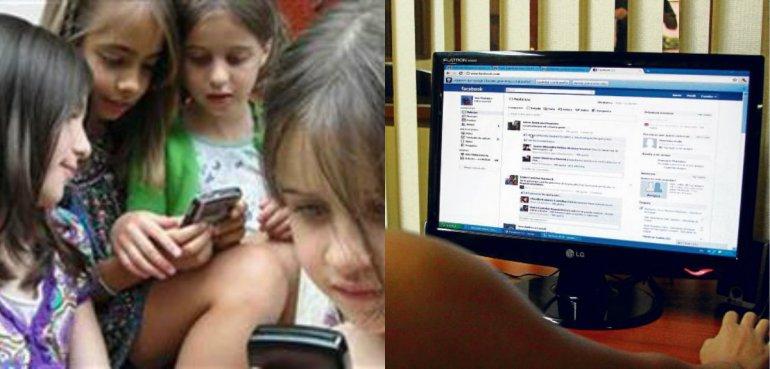 Advierten que nenas de 7 años  ya suben fotos eróticas a redes sociales