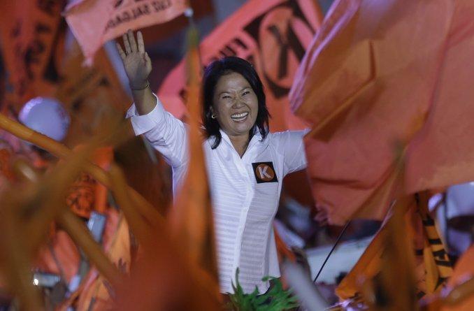 Perú va a las urnas con la hija de Fujimori como candidata favorita