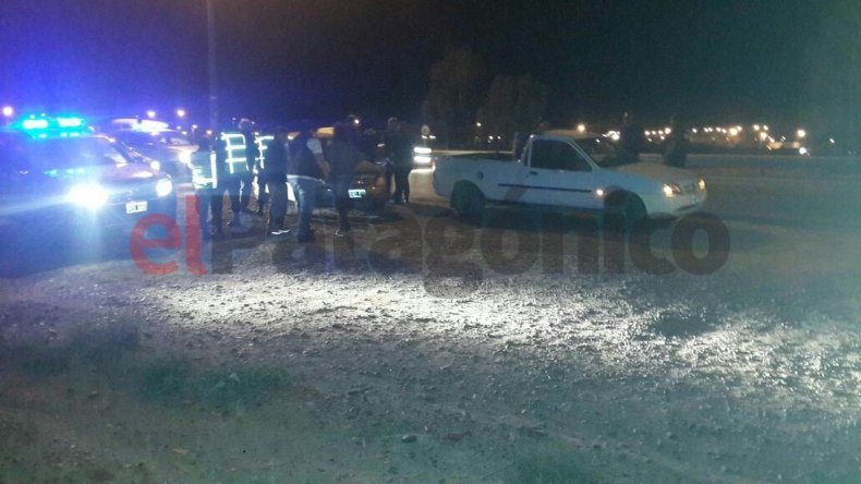 Dos mujeres hospitalizadas tras un choque en Castelli
