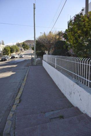 La calle en la que se produjo la agresión.