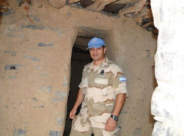 De Chubut al Sahara para cumplir una misión humanitaria