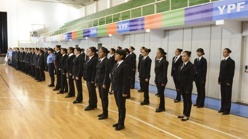 Con 67 aspirantes comenzó el ciclo lectivo para sumar nuevos agentes a la Policía de Chubut.