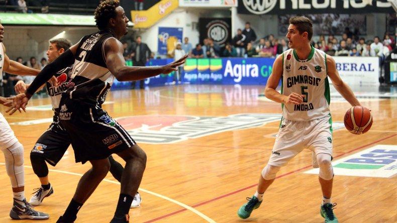 Gimnasia Indalo estuvo a siete segundos de lograr la victoria en Santiago del Estero.