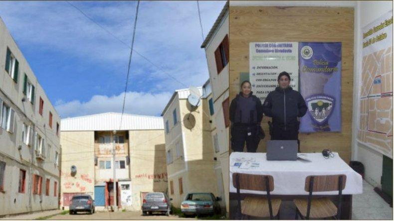 La Policia Comunitaria habilitó una oficina de atención en las 1.008