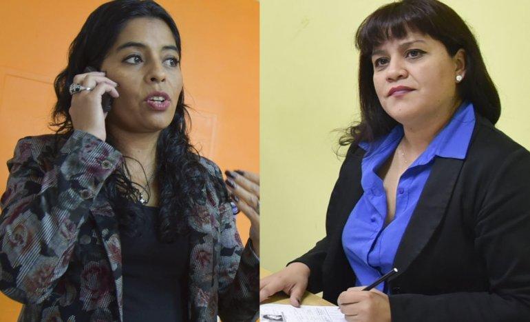Paula Ortiz y Mariela Arias.