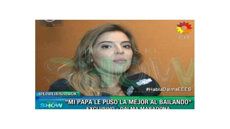 Dalma Maradona, convocada para ir al Bailando